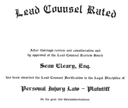 Lead Counsel Rating